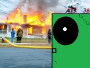 Nobraynes burns the house