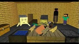 Monster School Cooking - Minecraft Animation