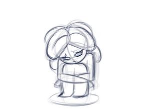 Imp Being Sad