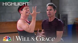 Will Breaks Jack's Finger - Will & Grace (Episode Highlight)