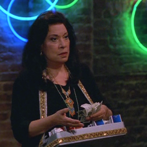 Rosario when she first meets Karen in 1985.