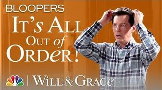 Bloopers for 303 Are Coming in Hot! - Will & Grace