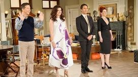 "***AWESOME*** - ""Will & Grace"" behind-the-scenes photo collage video"