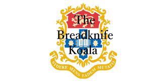 The Breadknife Koala Logo