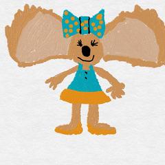 The original design for Jennifer Koala