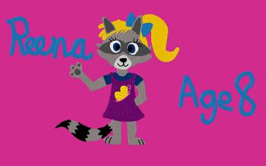 Reena Raccoon (4)