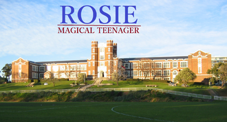 The Rosie Magical Teenager Logo