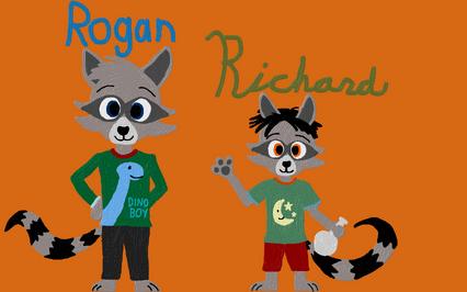 Rogan and Richard Raccoon (2)