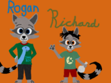 Rogan and Richard Raccoon