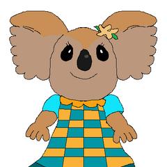Sophie the Otter's redesign of Jennifer <b>Koala</b>.