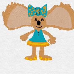 The other original design for Jennifer Koala.
