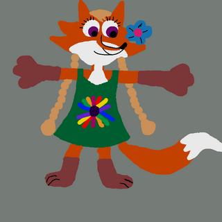 This is Reena's friend, Zara Fox.
