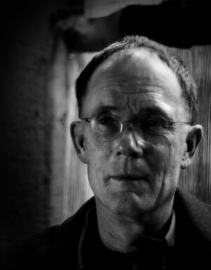 William Gibson 60th birthday portrait