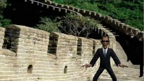 Ganga style obama