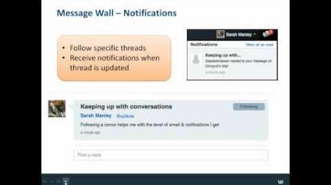 Wikia Webinars - Introducing the Message Wall & Wiki Navigation