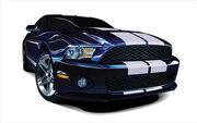 Photorealistic-mustang-vector-car