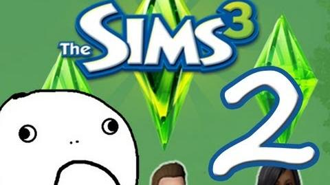 "Sims 3 Let's Play! Episode Two ""Get A Job!"""