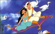Aladdin and jasmine-4902