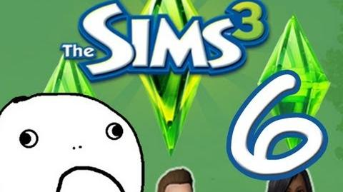 "Sims 3 Let's Play! Episode Six ""Worst BBQ Ever!"""