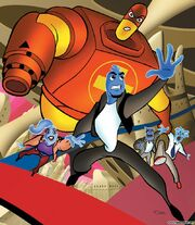 Ozzy and Drix Wallpaper