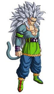 Son Goku Super Saiyan V by NeDan89