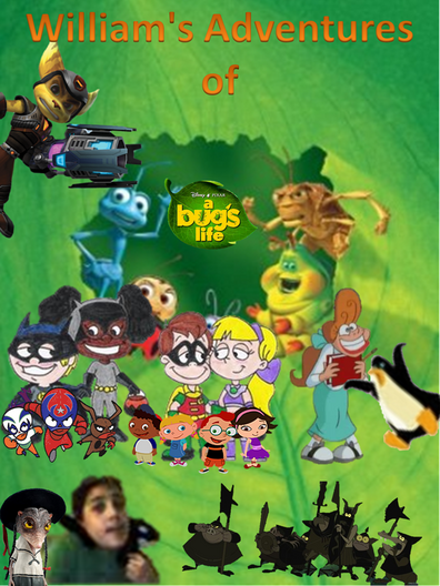William's Adventures of A Bug's Life Posters