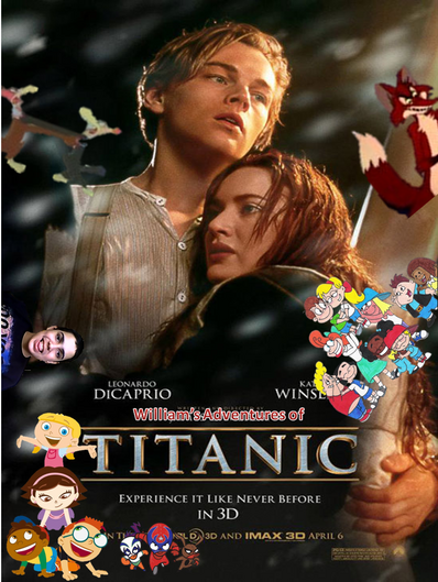 William's Adventures of Titanic Posters