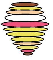 Luan loud spinning into a tornado by jorballata ddp117i