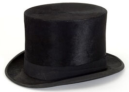 Top hat owned by Floyd B. Olson