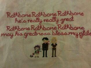 Rathbone blessing