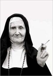 Reverend mother