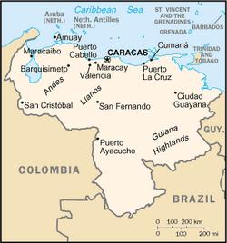 MapaWenezuela