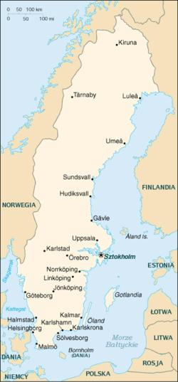 MapaSzwecja