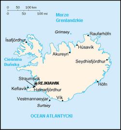 MapaIslandia