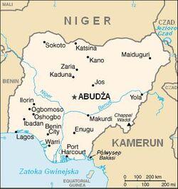 MapaNigeria
