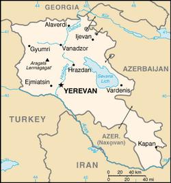 MapaArmenia