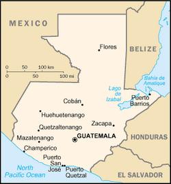 MapaGwatemala