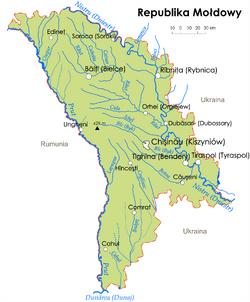 MapaMoldawia