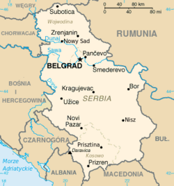 MapaSerbia