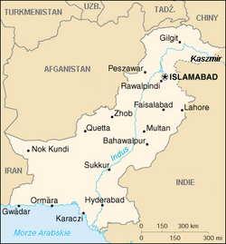 MapaPakistan