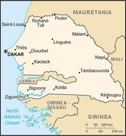 Senegal CIA map PL