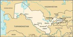 MapaUzbekistan