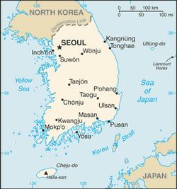 MapaKorea