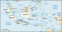 MapaIndonezja