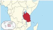 Tanzania lokalizacja