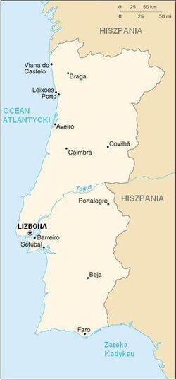 MapaPortugalia