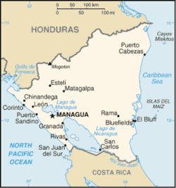 MapaNikaragua