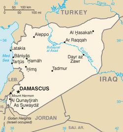 MapaSyria