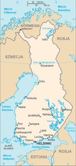 MapaFinlandia