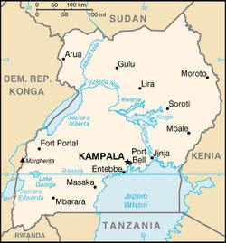 MapaUganda
